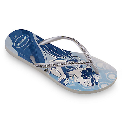 Snow White Bridal Flip Flops for Women by Havaianas