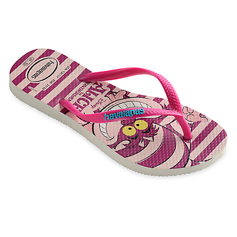 Alice in Wonderland Flip Flops for Kids by Havaianas
