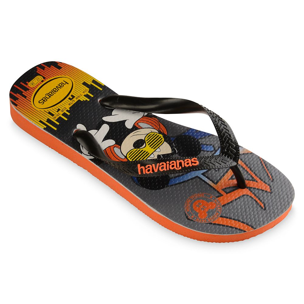 Mickey Mouse Hip Hop Flip Flops for Adults by Havaianas – 2000s