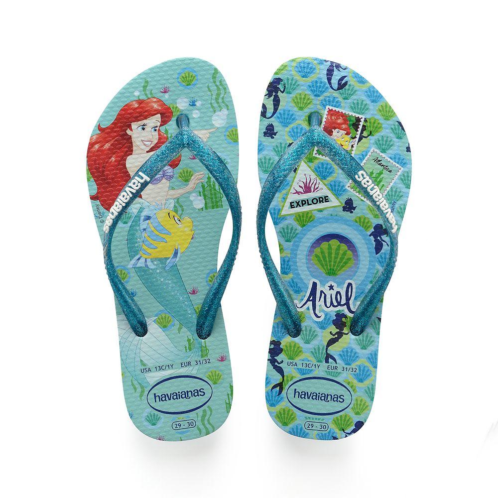 Ariel Flip Flops for Kids by Havaianas