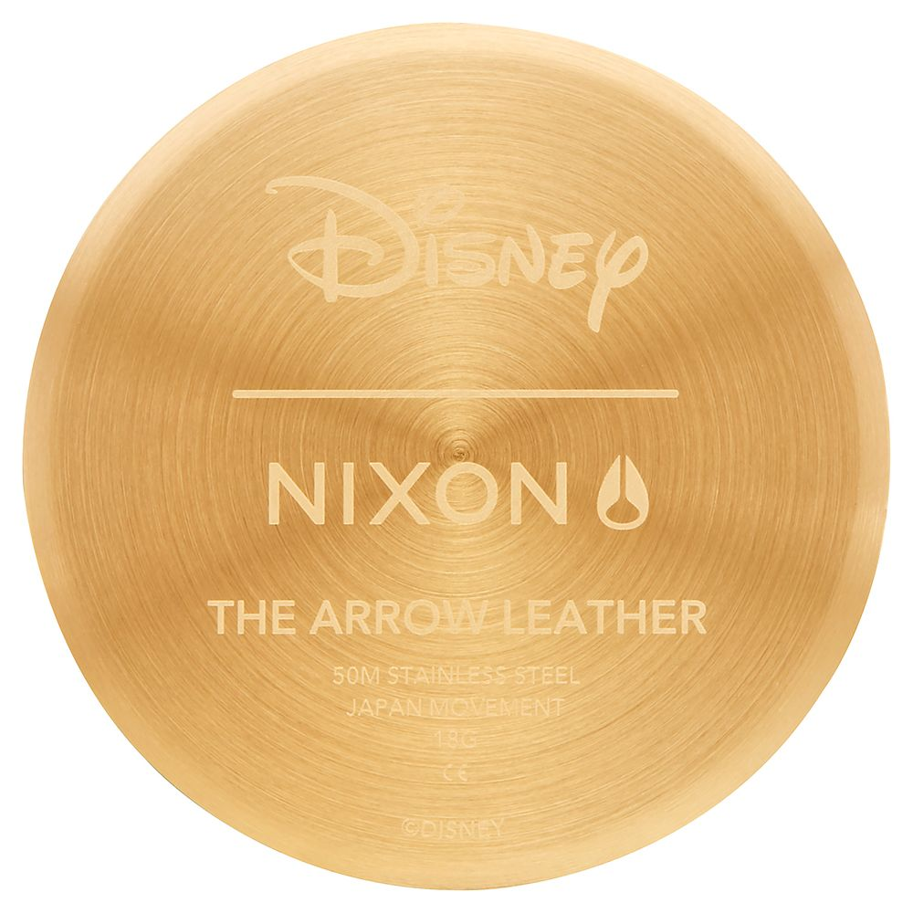 Mickey Mouse Arrow Leather Watch for Adults by Nixon