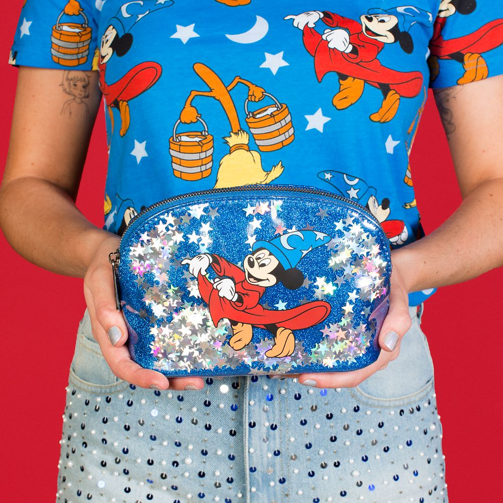 Sorcerer Mickey Cosmetic Bag by Cakeworthy – Fantastia