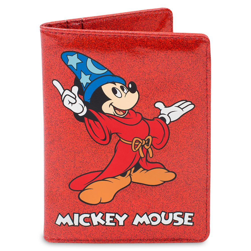 Sorcerer Mickey Passport Holder by Cakeworthy – Fantasia