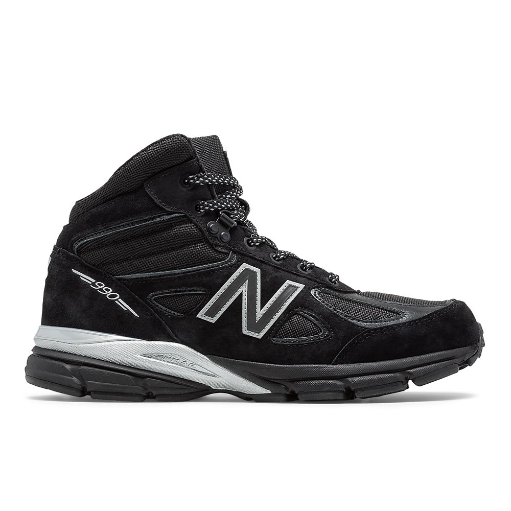 timeless design 5d9c1 d2e90 Black Panther 990v4 Sneakers for Men by New Balance