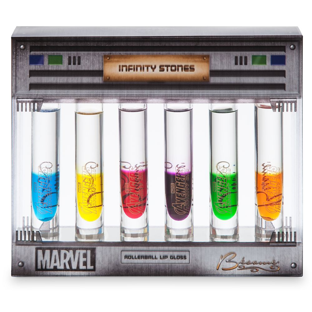 Marvel's Avengers: Infinity War Rollerball Lip Gloss Set by Bésame Cosmetics