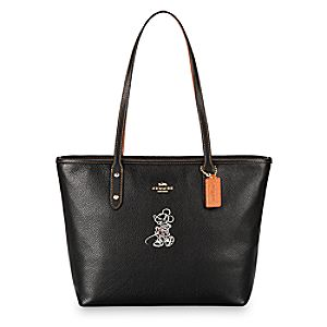 Minnie Mouse City Zip Tote by COACH