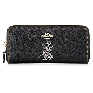 Minnie Mouse Accordion Zip Wallet by COACH