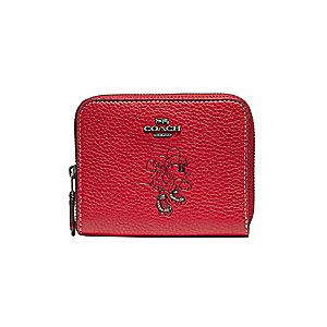 Minnie Mouse Rollerskate Zip-Around Wallet by COACH
