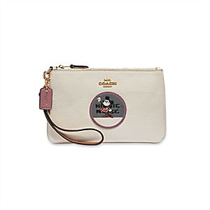 Minnie Mouse Wristlet by COACH