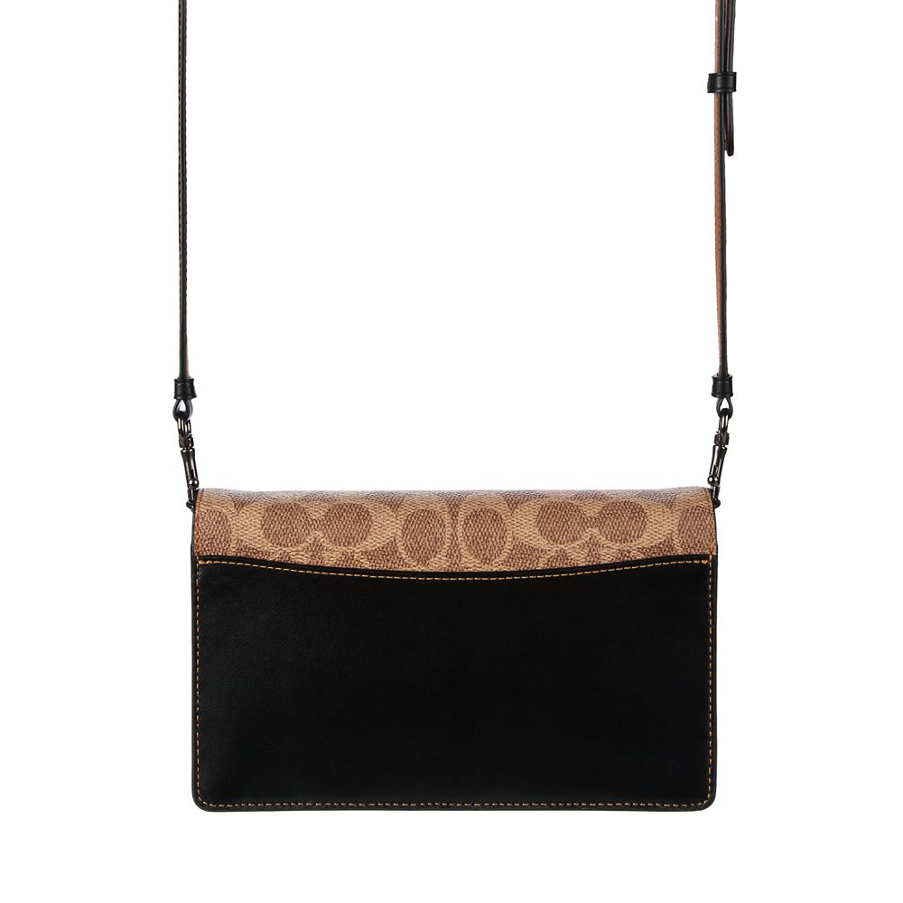 Mickey Mouse Patch Hayden Foldover Crossbody Clutch by COACH