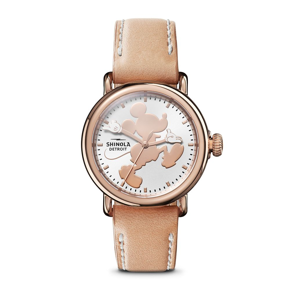Mickey Mouse Silhouette Watch for Women by Shinola