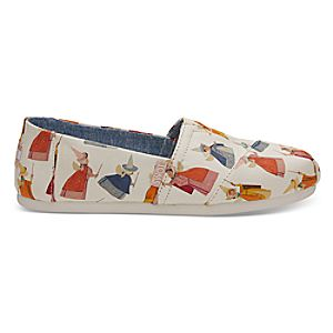 Flora, Fauna, and Merryweather Shoes for Women by TOMS - Sleeping Beauty
