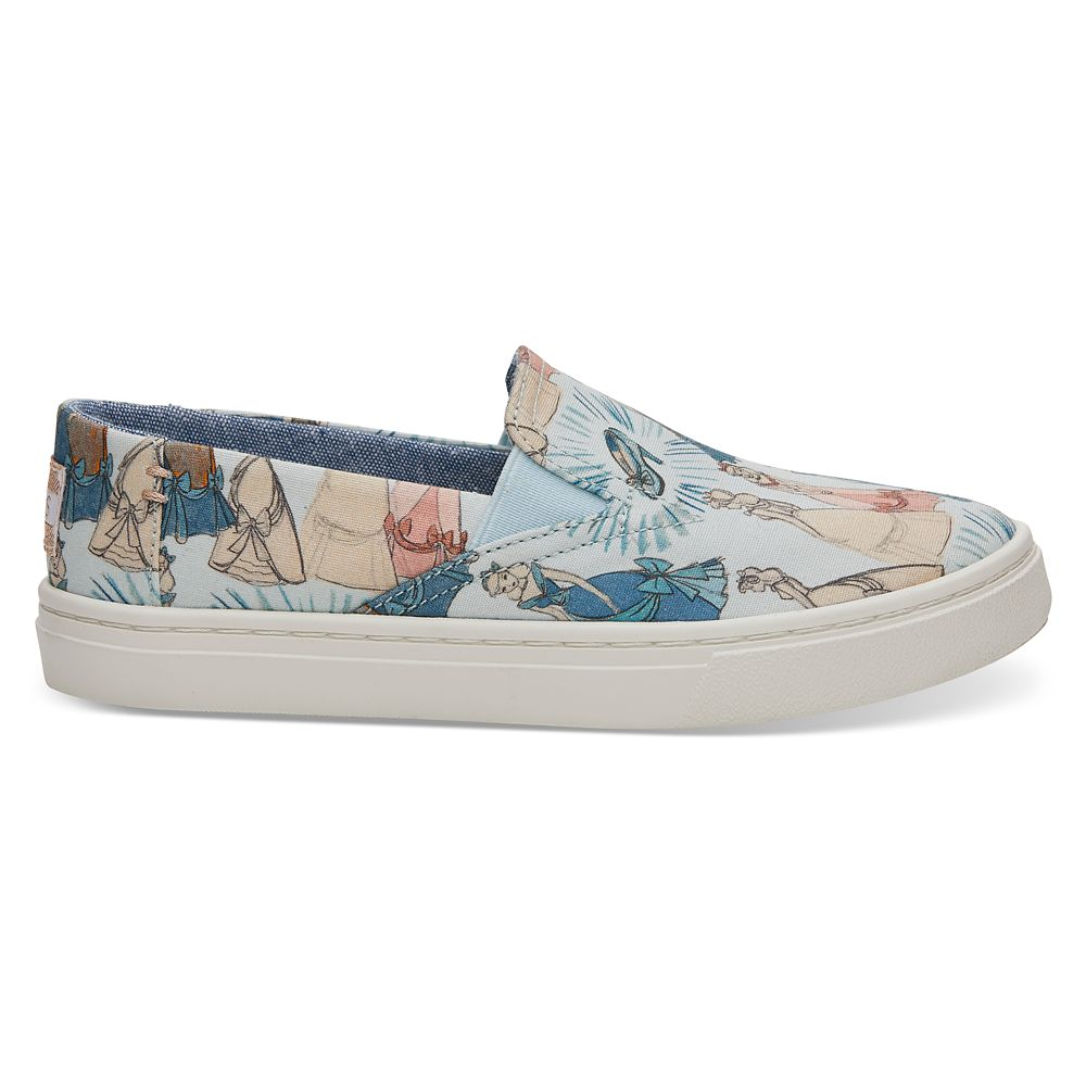 a92b96531e405 Cinderella Canvas Shoes for Kids by TOMS