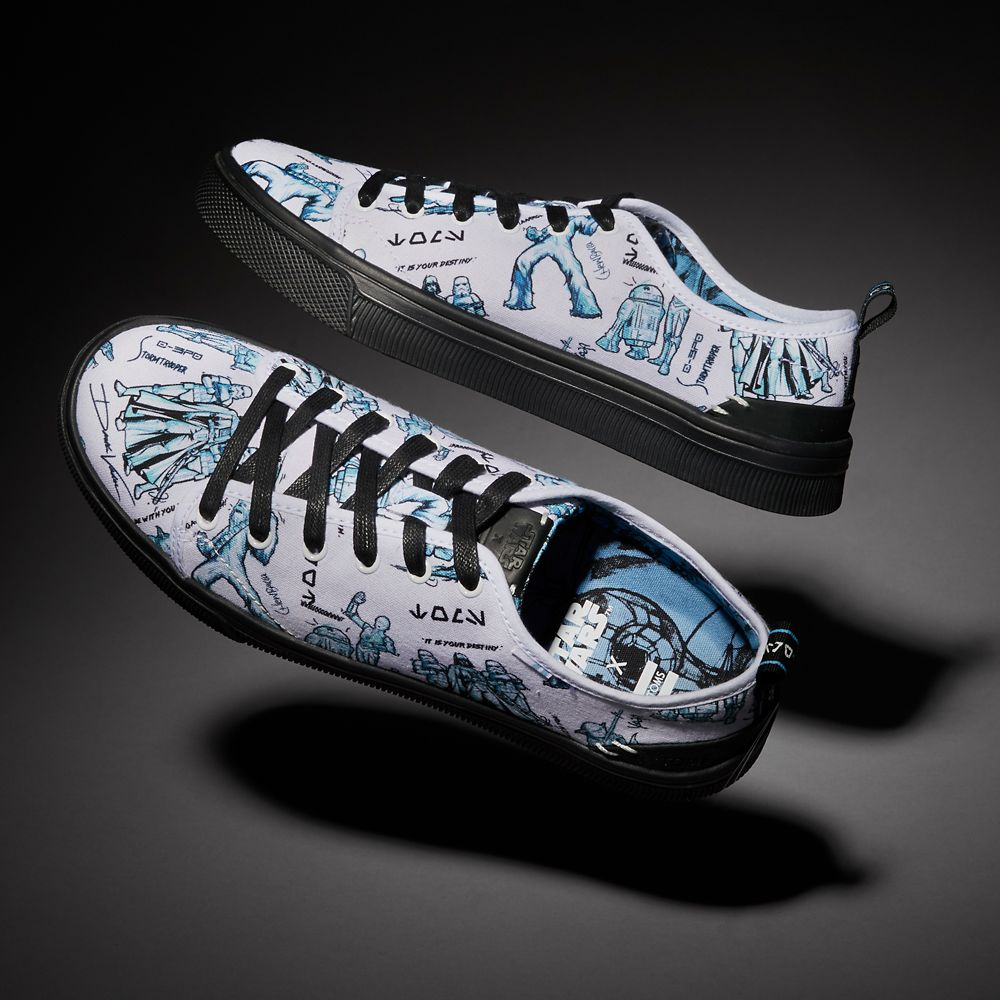 Star Wars Sneakers >> Star Wars Character Sketch Print Sneakers For Men By Toms White