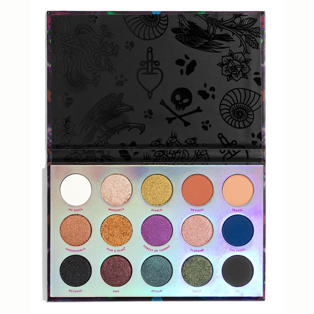 Disney Villains ''Misunderstood'' Pressed Powder Palette by ColourPop