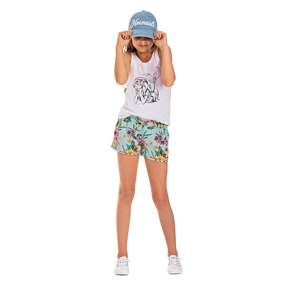 The Little Mermaid Baseball Cap for Girls by ROXY Girl