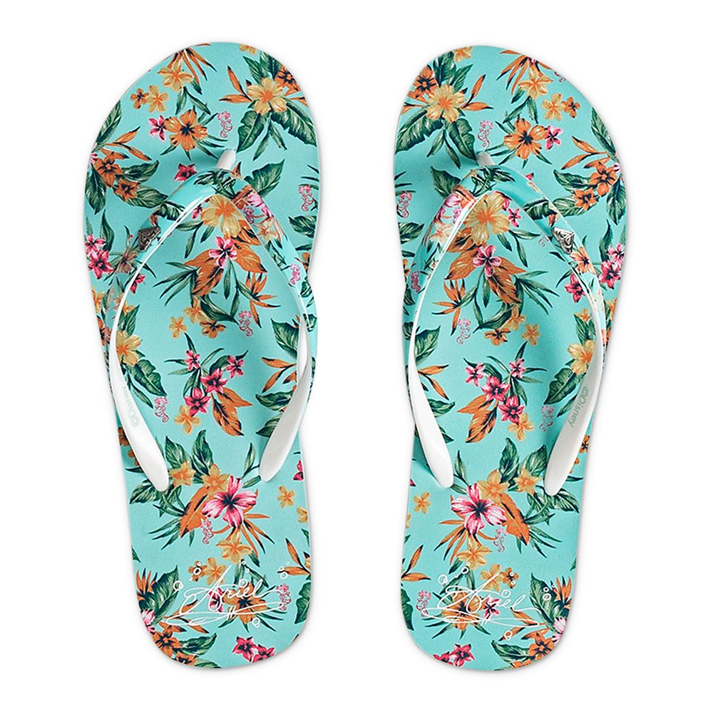 Ariel Flip Flops for Girls by ROXY Girl