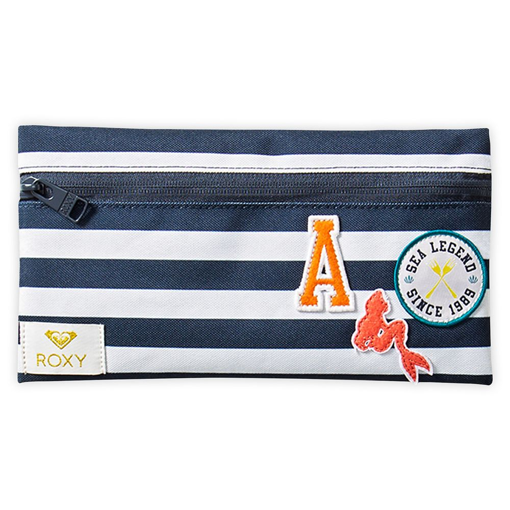 The Little Mermaid Striped Pencil Case by ROXY Girl