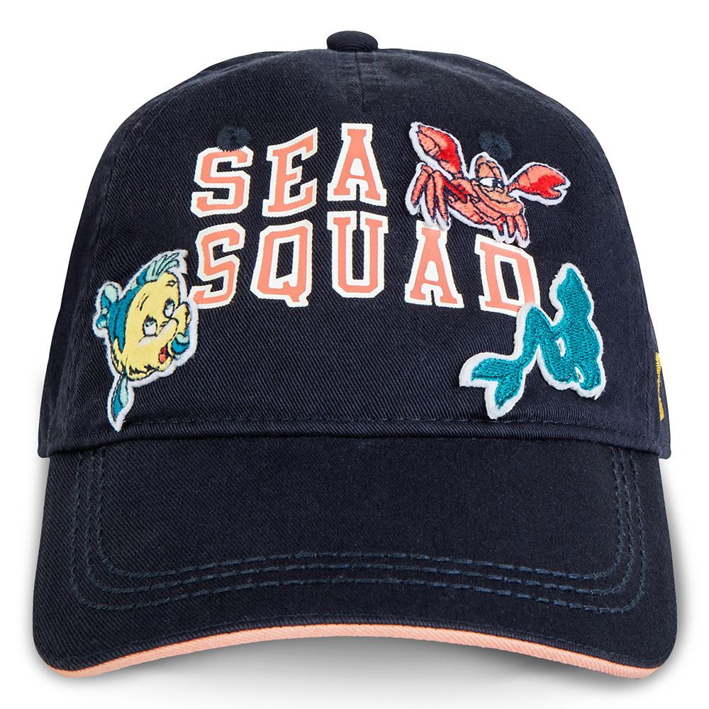 The Little Mermaid ''Sea Squad'' Baseball Cap for Girls by ROXY Girl