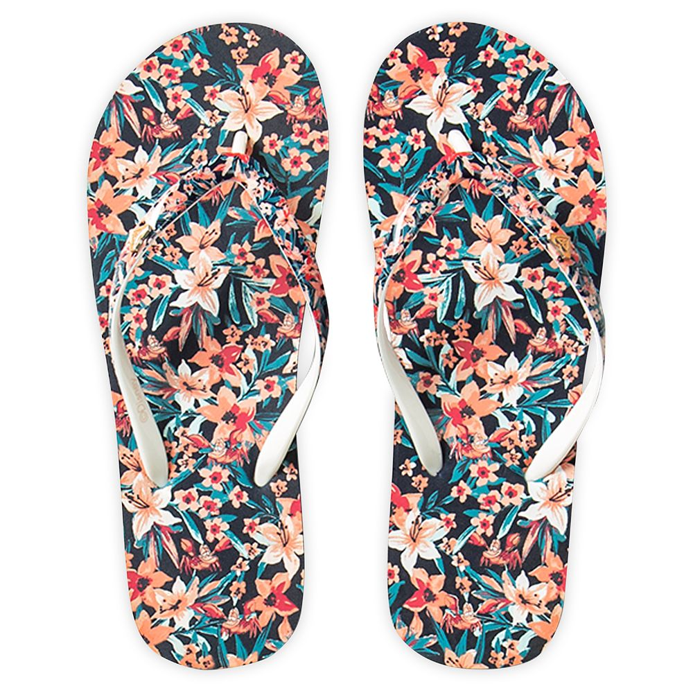 The Little Mermaid Flip Flops for Girls by ROXY Girl