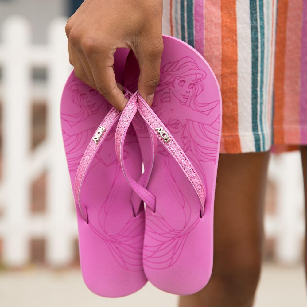 Ariel Flip Flops for Girls by ROXY Girl