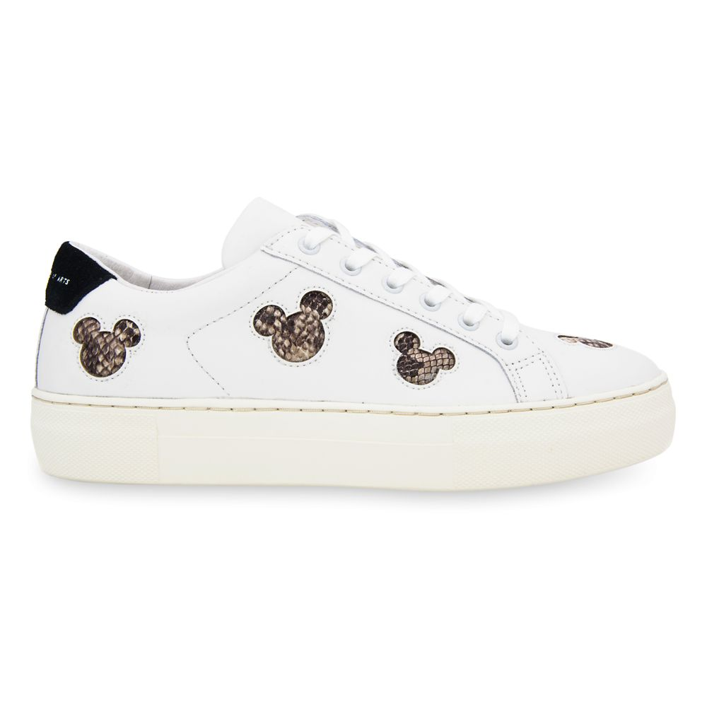 Mickey Mouse Silhouette Sneakers for Women by Master of Arts