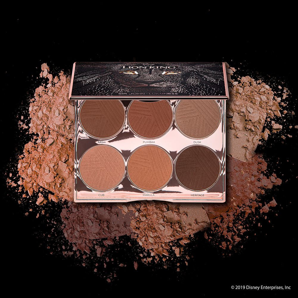The Lion King Kingdom Sculpting Palette by Luminess – 2019 Film