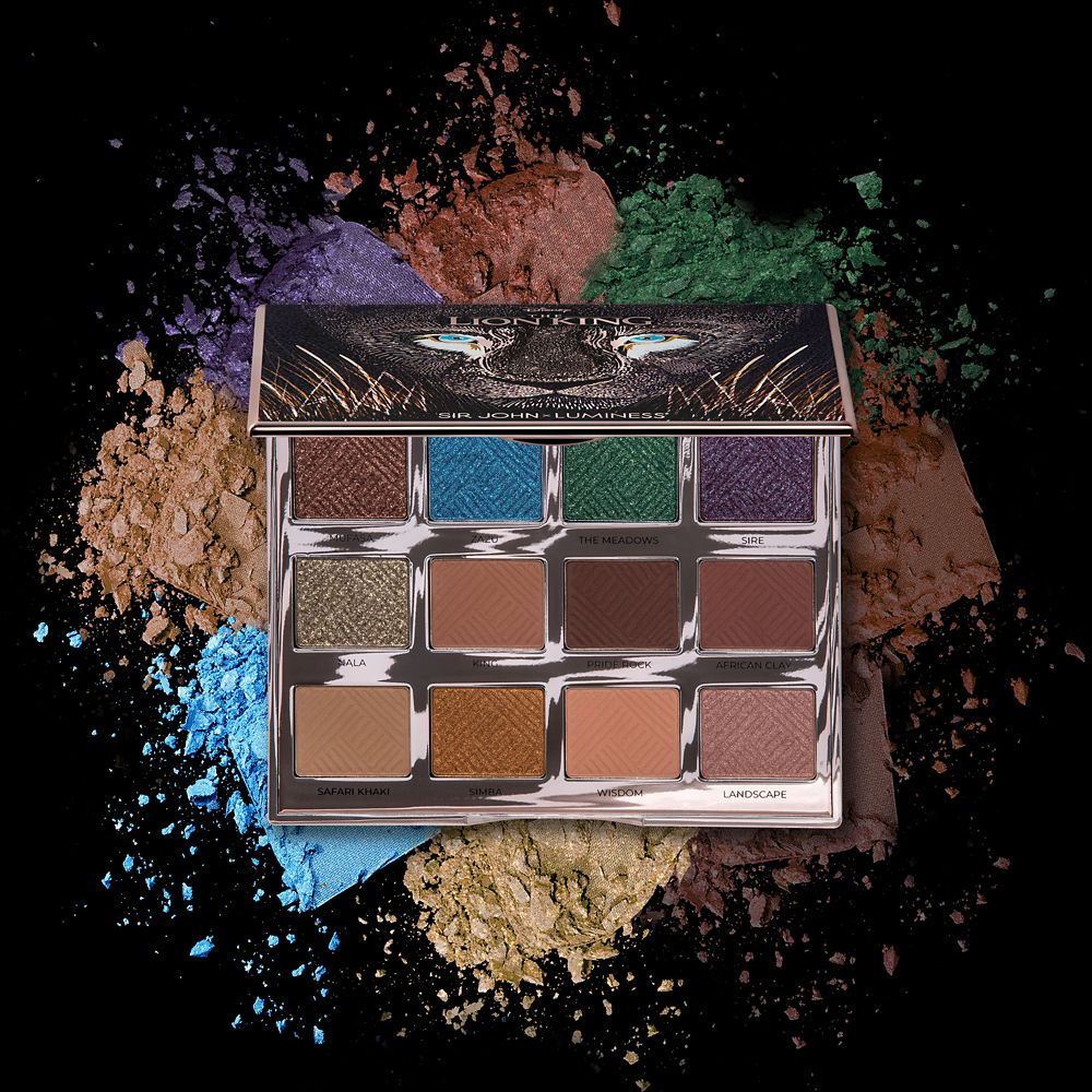 The Lion King Can't Wait to Be Queen Eyeshadow Palette by Luminess – 2019 Film