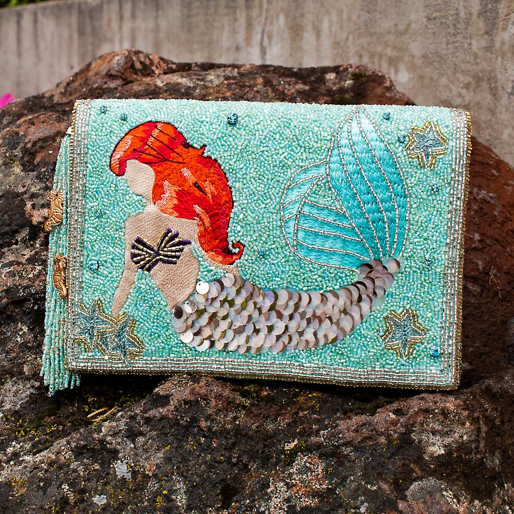 Ariel Beaded Crossbody Clutch by Mary Frances