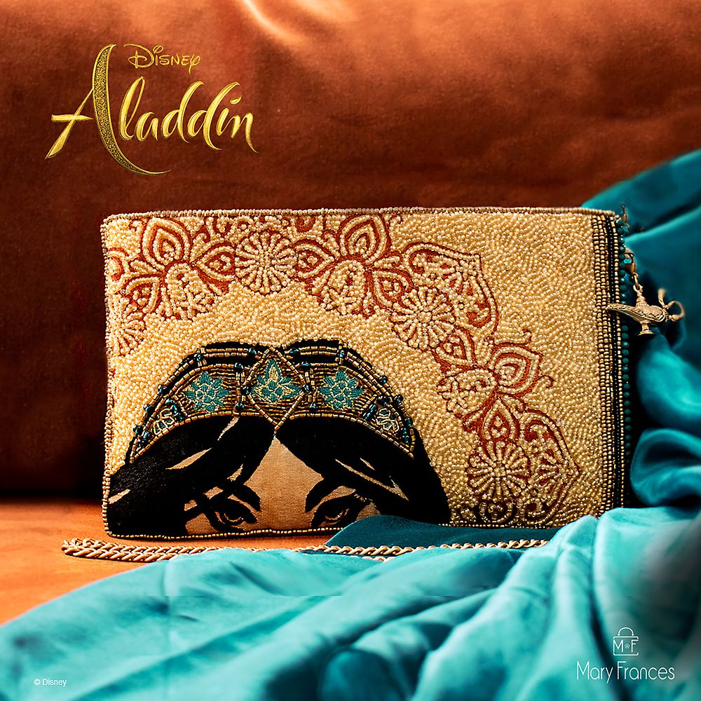 Jasmine Desert Princess Beaded Crossbody Clutch by Mary Frances – Aladdin – Live Action Film