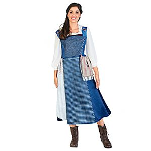 Belle Village Deluxe Dress for Adults by Disguise