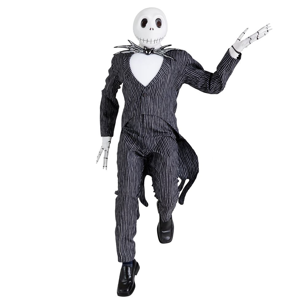 Jack Skellington Deluxe Costume for Adults by Disguise