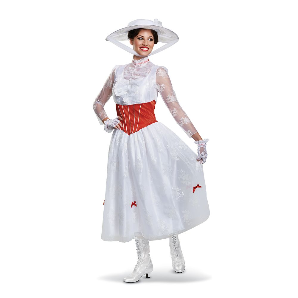 Mary Poppins Deluxe Costume for Adults by Disguise Official shopDisney