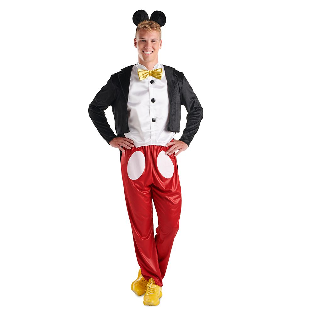 Mickey Mouse Costume for Adults by Disguise
