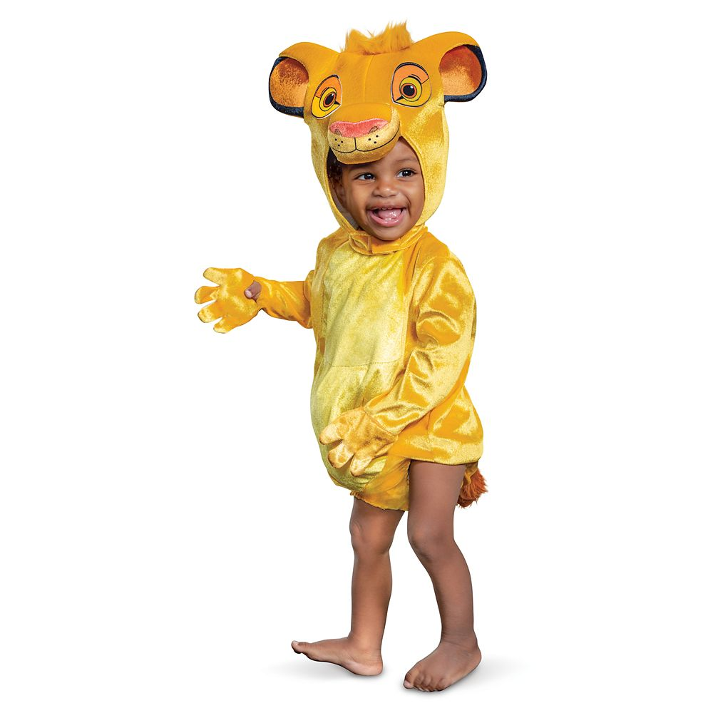 Simba Costume for Baby by Disguise