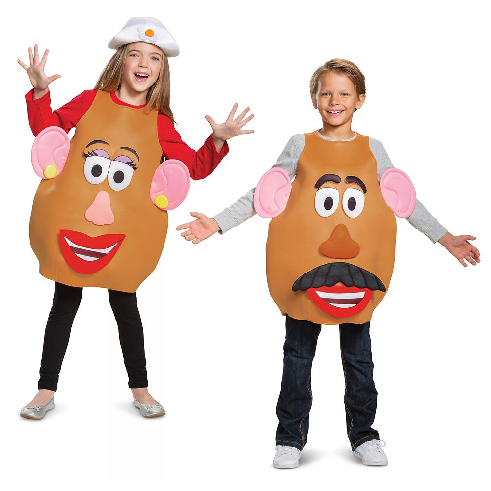 Mr And Mrs Potato Head Deluxe Costume For Kids Toy Story