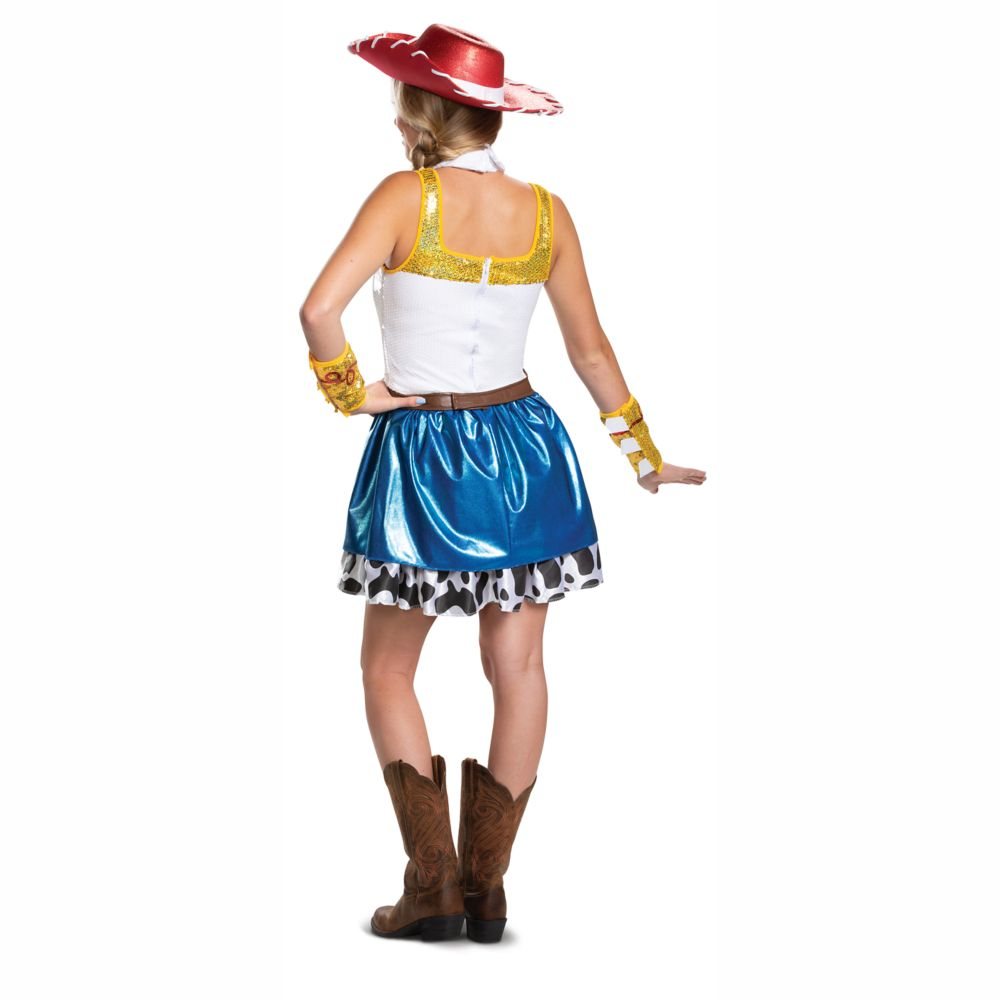 Jessie Dress Costume for Adults by Disguise – Toy Story