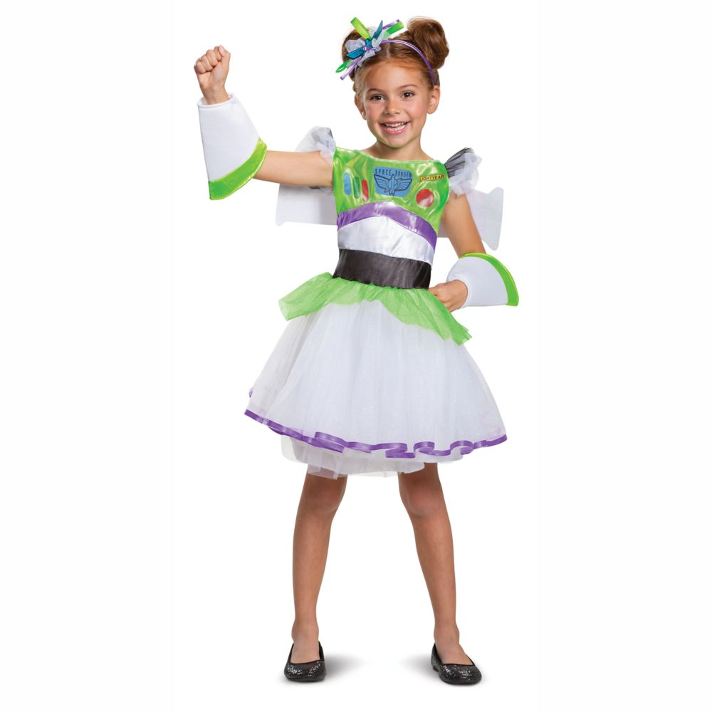 Buzz Lightyear Costume Tutu for Kids by Disguise