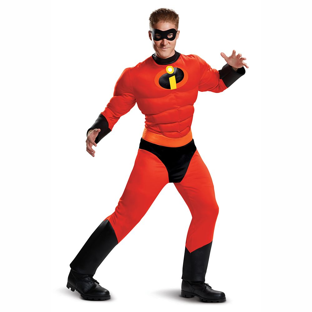 Mr. Incredible Deluxe Costume for Adults by Disguise
