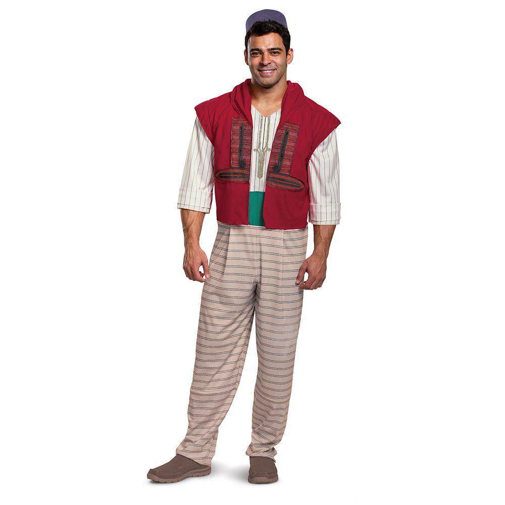 Aladdin Deluxe Costume for Adults by Disguise – Live Action Film