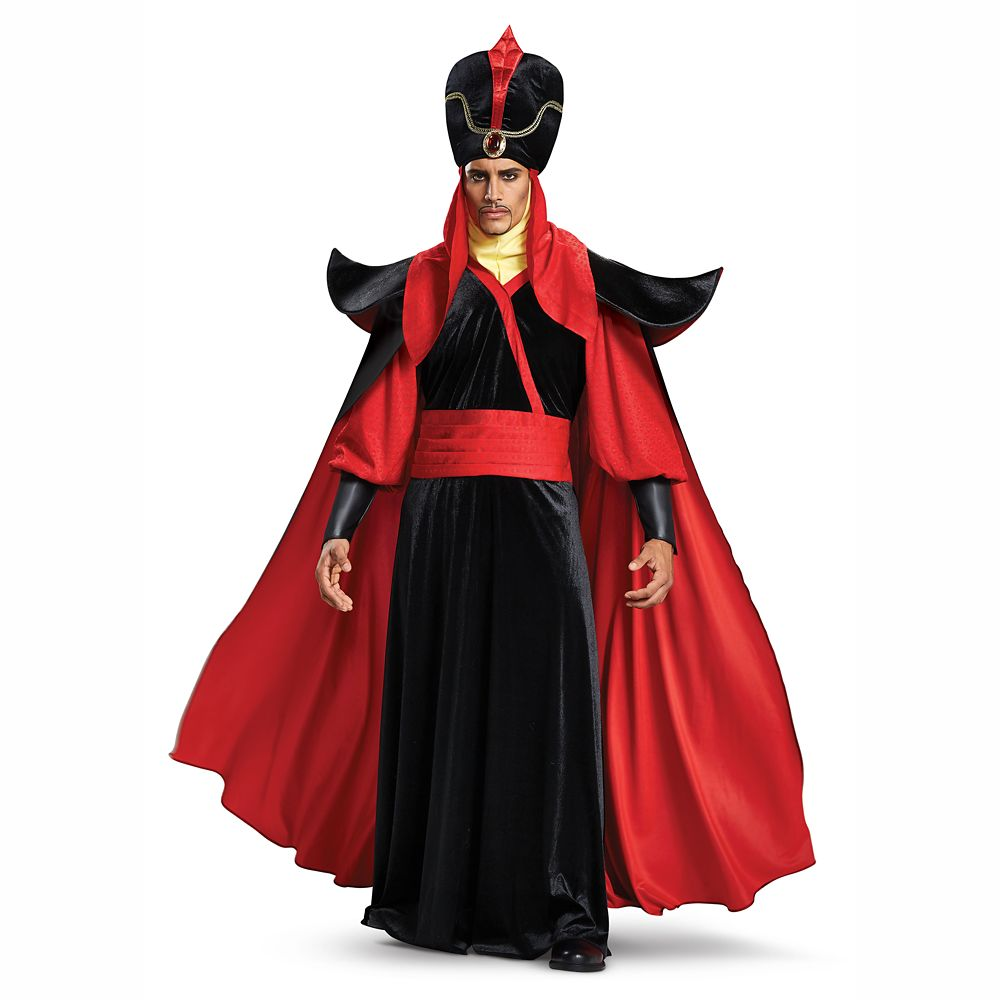 Jafar Deluxe Costume for Adults by Disguise – Aladdin