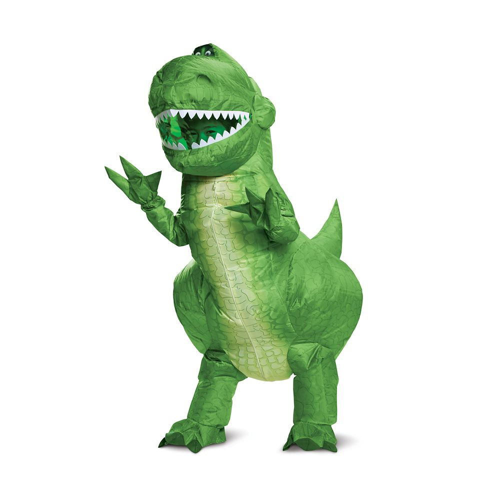 Rex Inflatable Costume for Kids by Disguise – Toy Story