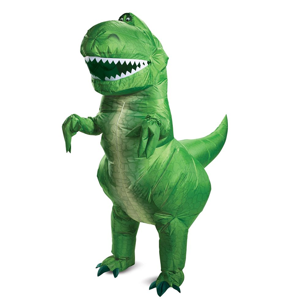 Rex Inflatable Costume for Adults by Disguise – Toy Story
