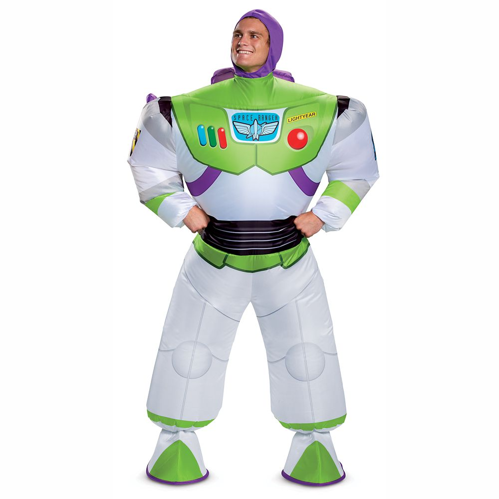 Buzz Lightyear Inflatable Costume for Adults by Disguise