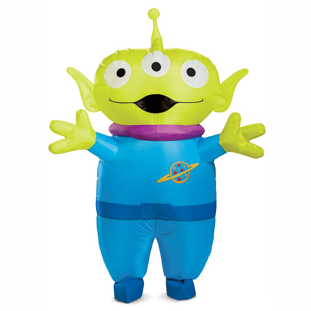 Toy Story Alien Inflatable Costume for Adults by Disguise