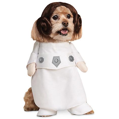 Princess Leia Costume for Pets by Rubie's