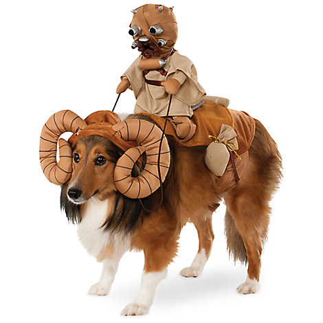 Bantha with Tusken Raider Pet Costume by Rubie's