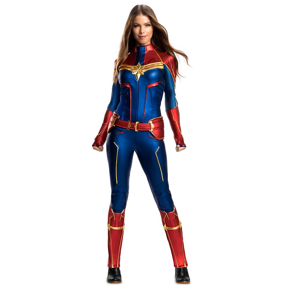 Marvel's Captain Marvel Costume for Adults by Rubie's