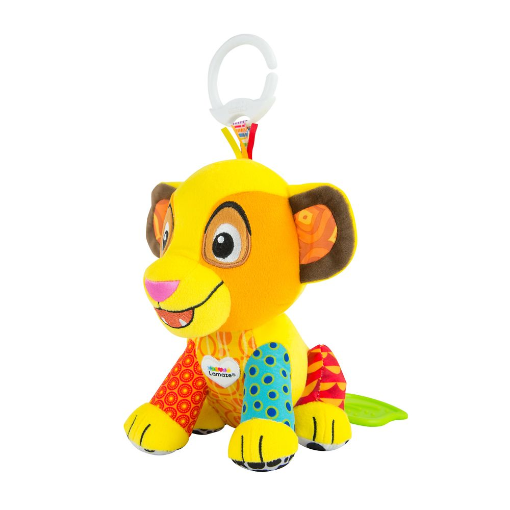 Simba Clip & Go Plush for Baby by Lamaze – The Lion King