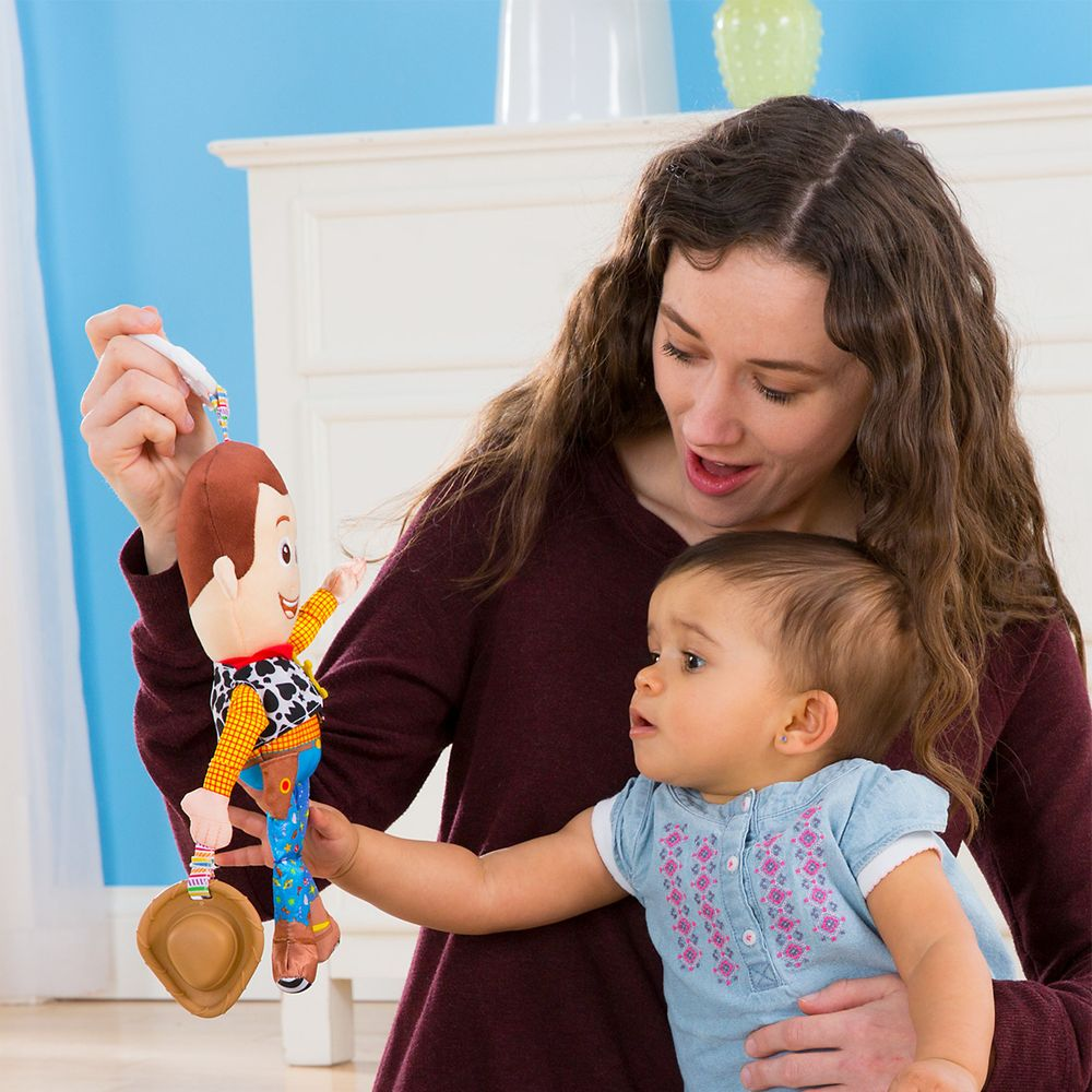 Clip Go en Cochecito Juguete De Bebé Lamaze Disney Baby Toy Story Clip Y Buzz Lightyear